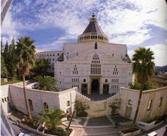Where Peter denied Christ thrice - Holy Land Pilgrimage - Journey into the Bible, church of the annunication