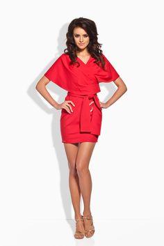 Sukienka Model L138 Red Lemoniade  Zapraszam na www.margery.pl