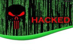 Hacked Internet Technology PPT Backgrounds