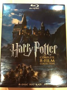 Harry Potter Complete Eight Film Collection Blu Ray Disc Set | eBay