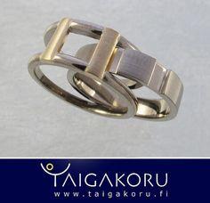 KVS88 Valkokulta, vihkisormukset, kihlasormus, Taigakoru. Wedding rings, engagement ring, white gold. www.taigakoru.fi by TAIGAKORU, via Flickr