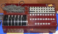 US Enigma replica on display at the National Cryptologic Museum in Fort Meade, Maryland, USA.