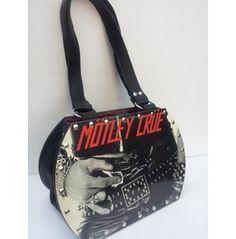 Motley Crue Too Fast For Love Backstage Bag Recordpurse