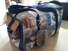Sonne, Wind und Wellen: Die Meer-Tasche von Helena Rosien für #machdeinding2016