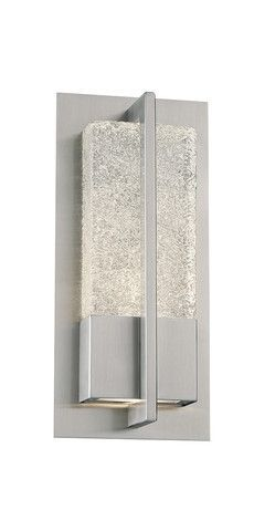 Contemporary wall sconce | Omni Indoor or Outdoor Wall Sconce by #ModernForms | 2Modern (led exterior lighting outdoor walls)