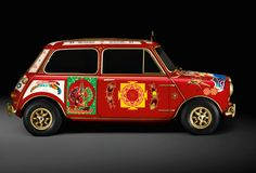 George Harrison`s psychedelic MINI Cooper S New Special Edition