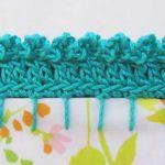 ten crochet edging tutorials! ༺✿ƬⱤღ  http://www.pinterest.com/teretegui/✿༻