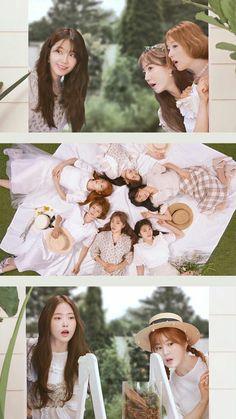 Eunji Apink, Panda Eyes, Pink Panda, Pink Moon, Chubby Cheeks, Lock Screen Wallpaper, Love At First Sight, Kpop Girls, Girl Group