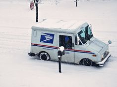Just another day for the Postal Service.