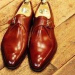 Calzado de caballero, Zapatos de una hebilla, monkstrap
