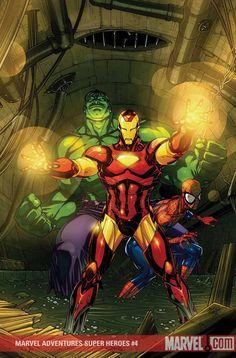 #Hulk #Fan #Art. (Marvel Ådventures Super Heroes Vol.1 #4 Cover) By: Roger Cruz. (THE * 5 * STÅR * ÅWARD * OF: * AW YEAH, IT'S MAJOR ÅWESOMENESS!!!™) ÅÅÅ+
