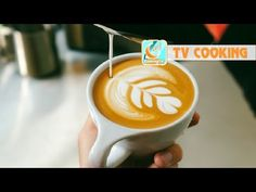 "IKECCI'S Latte Art ""wing tulip""2013.02.19 ラテアート - YouTube"