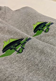 We are huge FANS of these @FanMan sweatshirts! #brandspeed #March #2019 #embroidery