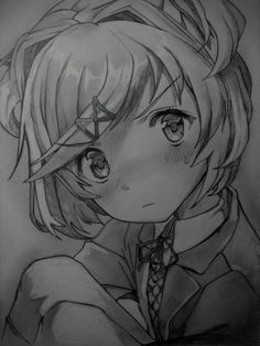 Natsuki(Drawing by deathlouis)