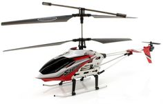 JP Commerce S301G-RED 3.5ch Syma S301G Large Size RC Helicopter with Gyro - Red