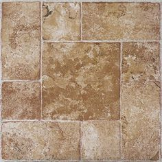 These tiles can be used in any room of your home including the kitchen, bedrooms, bathrooms, foyers, basements, and the dining room. No messy glue or adhesives are needed for these vinyl tiles.
