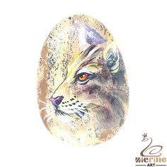 Hand Painted leopard Necklace Pendant   Natural Gemstone   ZL802823 #ZL #Pendant