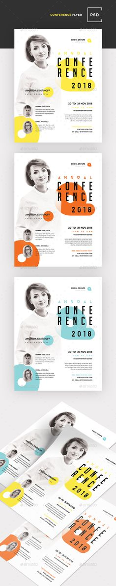 Business Conference Flyer — Photoshop PSD #photoshop #seminar • Available here ➝ https://graphicriver.net/item/business-conference-flyer/20647718?ref=pxcr