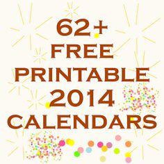 MeinLilaPark – digital freebies: 60+ free printable 2014 calendars - ausdruckbare Kalender 2014 - links