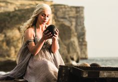 Emilia Clarke, who has brought Daenerys Targaryen to beautiful, vivid life on the telly
