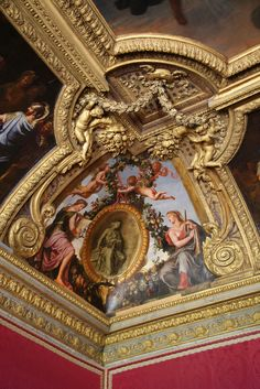 2007 France: Versailles  (Le salon de Mars, the Mars Room) | by J.P. Panter Louis Xiv, Chateau Medieval, Palace Of Versailles, Chateau Versailles, Stuck, Royal Palace, Beautiful Buildings, Beautiful Architecture, Burg