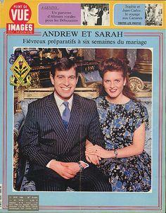 Sarah Ferguson Prince Andrew POINT de VUE IMAGES du MONDE 6/13 1986