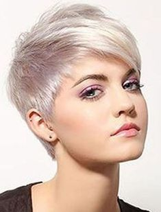 Trend Short for and Best Pixie # Hairstyles Women's Hair Model … - Hair Beauty Pixie Hairstyles, Short Pixie Haircuts, Short Hairstyles For Women, Short Hair Cuts, Cool Hairstyles, Pixie Cuts, Layered Hairstyles, Great Hair, Hair Today