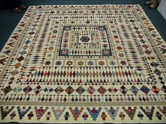 Karen Styles: Mrs Billings' Coverlet I so much want to make this quilt if I could find the pattern in the US