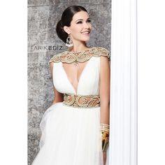 Tarik Ediz Evening dress 92173 ❤ liked on Polyvore