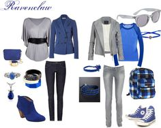 Ravenclaw, created by elyghtning on Polyvore