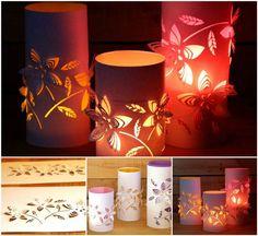 Creative Ideas - DIY Beautiful Dimensional Flower Paper Lanterns | iCreativeIdeas.com Follow Us on Facebook --> https://www.facebook.com/iCreativeIdeas