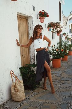 Summer In The South - Mytenida - StyleLovely Boho Look, Beautiful Sunset, Street Style, My Style, Summer, Outfits, Trips, Outfit Ideas, Clothing