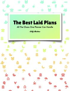 My book! My book! It's a planner with a weekly entry written by me, guaranteed to make you laugh, reflect and hopefully become less of a hot mess.