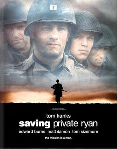 The greatest war movie ever made. This movie depicts all the aspects of a war - the blood and gore, the emotions and the feeling of brotherhood, the patriotism, all of it. And all that under the great direction of steven spielberg. I have watched this movie over and over again and every time it inspires me deeply. Do not worry about all the bloodshed in the movie, just go watch it....