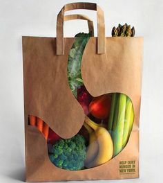 """Empty Stomach Bag"" Vegetable #Package !"