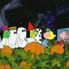 Watch It's the Great Pumpkin, Charlie Brown (1966) with your kids this Halloween. If you haven't seen this beloved cartoon short, prepare to set your DVR — local stations usually air it a few weeks before Halloween.