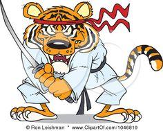 Karate Tiger (War Eagle!)