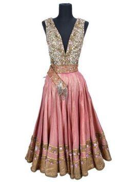 """Middle Eastern dance costume worn by Betta St John as Tarji in """"Dream Wife"""" (1953)."""