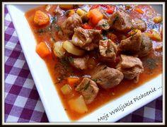 Pikantna zupa gulaszowa Beef, Food, Meat, Essen, Meals, Yemek, Eten, Steak