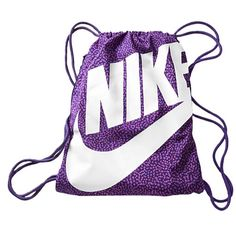 Nike Heritage Gymsack Bag Purple Nike http://www.amazon.com/dp ...