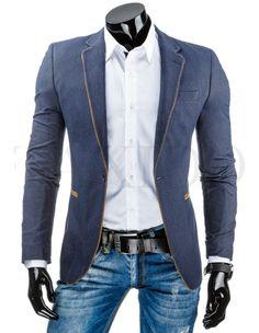Pánské stylové sako - Windsor, světlé Windsor, Suit Jacket, Blazer, Suits, Jackets, Fashion, Down Jackets, Moda, Fashion Styles
