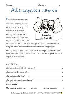 116 mejores imágenes de lectura | Spanish, Reading Comprehension y ...