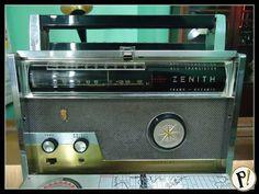 Raro Radio Zenith Trans-oceanic Royal 1000 Excelente. - R$ 640,00 no MercadoLivre