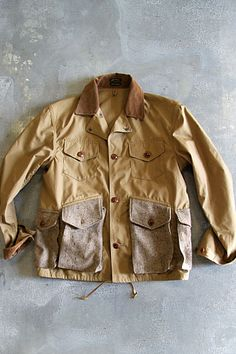 Svrplvs Mode Masculine, Denim Fashion, Fashion Menswear, Hunting Jackets, Outdoor Fashion, Work Jackets, Raw Denim, Field Jacket, Basic Outfits