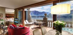 Rooftop Suite @ Grand Hotel Tremezzo, Como, Italy....   Suite Me Up   The Best Hotel Suites