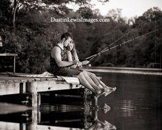 Fishing Engagement Photo