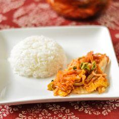 Stuffed Cabbage Kimchi - a classic Korean side dish.