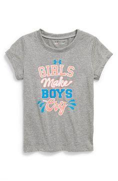Under Armour 'Girls Make Boys Cry' Tee. Soccer gear.