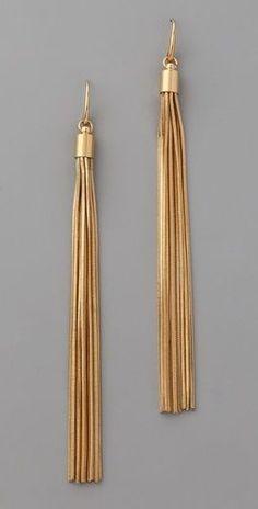 Michael Kors  Glam Classics Tassel Earrings  Style #:MKWAT40063