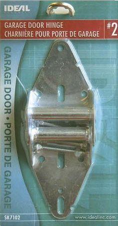 Ideal Security SK7102 GARAGE DOOR HINGE #2 galvanized steel overhead sectional